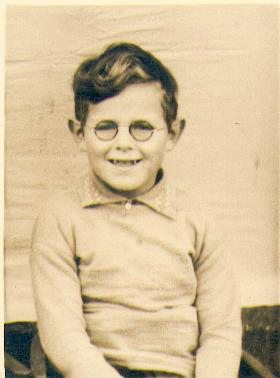 Ted's brother Billy at age 5