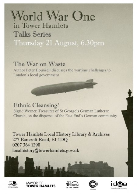 War on Waste & Ethnic Cleansing talks poster