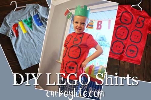 DIY LEGO Shirts