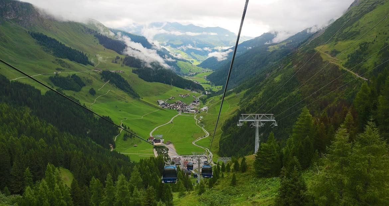 1st ski pass up