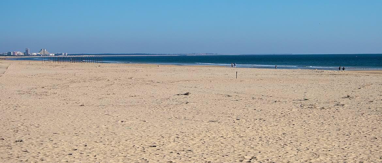 Manta Rota's beach.