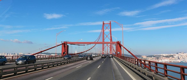 Lisbon bridge.