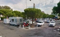 Parking in Nice.