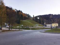 Garmisch Partenkirchen parking.