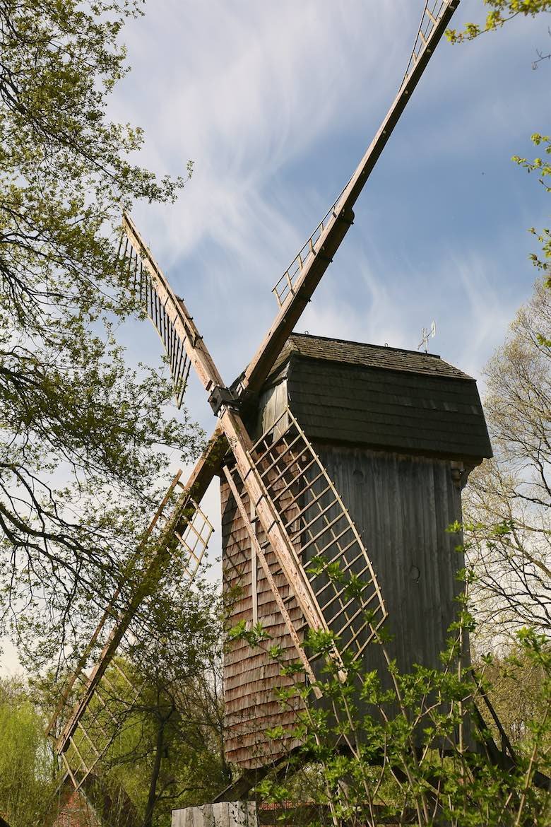 Windmill at the open air museum