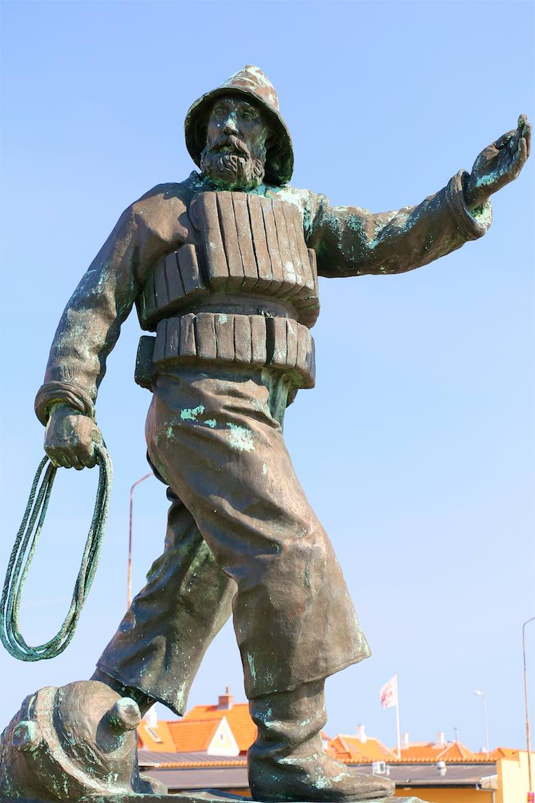 Skegan Fisherman Statue