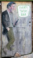 Great tapas bar sign