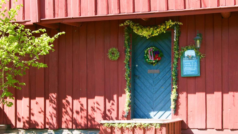 Closed Christmas Shop