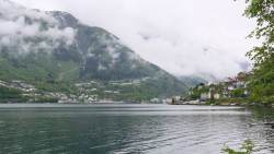 Our sleepy spot view of Odda