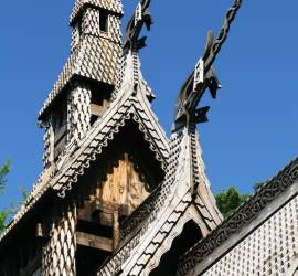 Fantoft slav church