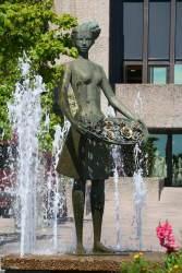 Statue in Molde