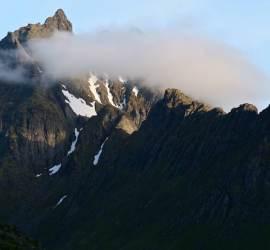 The Lofoten peaks