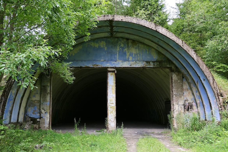 Soviet Hangar