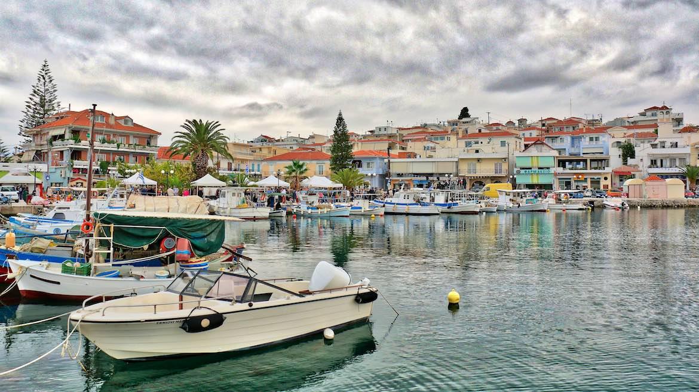 Ermoini harbour