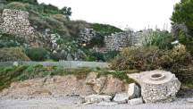 The ruins of Ancient Asine