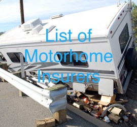 Motorhome Insurance Providers