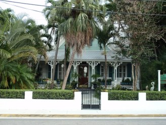 Gingerbread house in Key West, FL