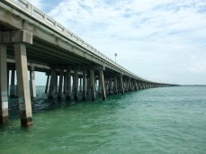 The new Bahia Honda Bridge, US 1, Florida Keys