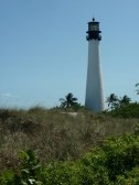 Cape Florida Light from the dunes