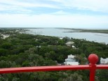 View of Intracoastal Waterway from St. Augustine Light