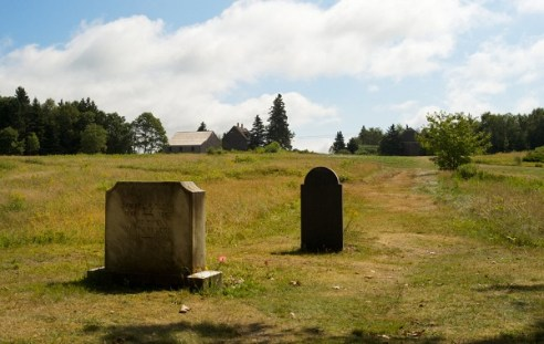 Andrew Wyeth's headstone