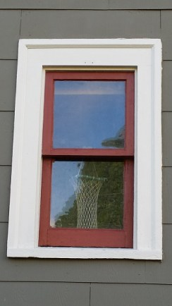 Small window after paint