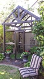 Gable-roofed garden catio