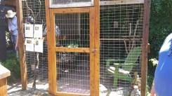 Catio door for humans