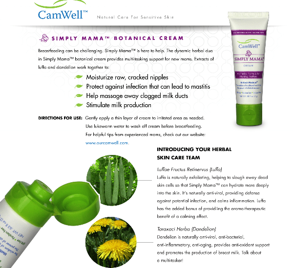 skin care for breast feeding mothers -all natural