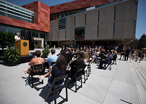 Tutt Library Opening