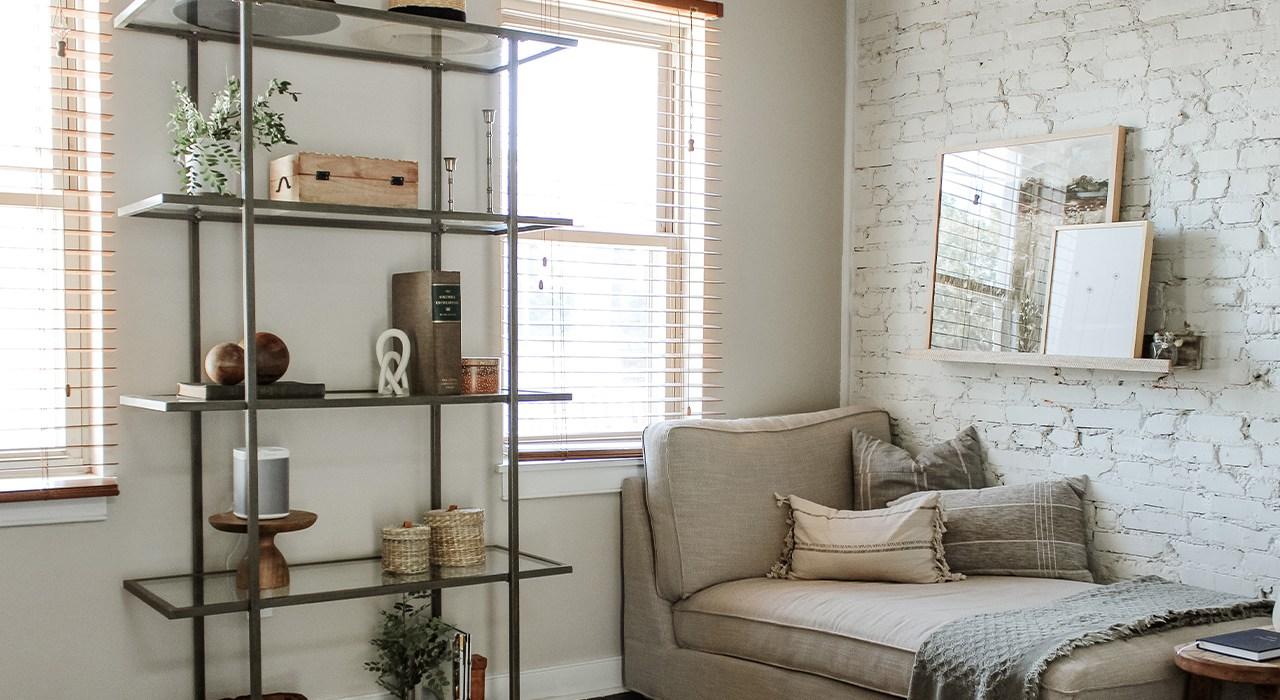 Office Shelf Styling