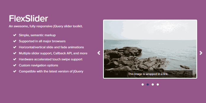 Flex Slider jQuery Plugin
