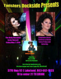 Show Ad | Twisters Dockside (Lakeland, Florida) | 5/7/2010