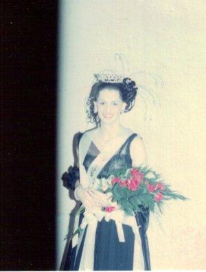 Cissy Tagburn the night she won Miss Gay Indiana America 1981