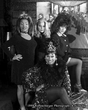 Back Row L to R: Maria Garrison, Missy Marlo and Ariel DuVois. Front Row: Vee Love