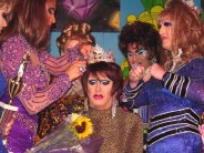 Erika Evans being crowned Miss Gay Ohio America 2005