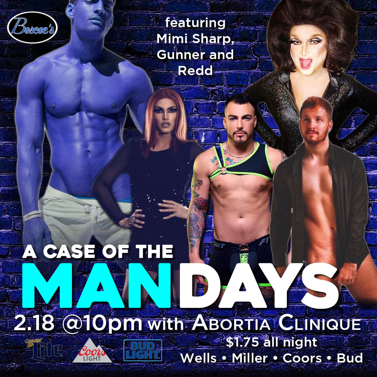 Show Ad   Boscoe's (Columbus, Ohio)   2/18/2019