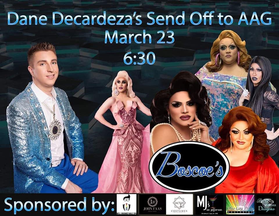 Show Ad | Boscoe's (Columbus, Ohio) | 3/23/2019
