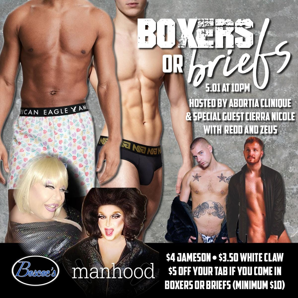 Show Ad   Boscoe's (Columbus, Ohio)   5/1/2019