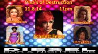 Show Ad | Diesel Bar & Nightclub (Springfield, Ohio) | 11/18/2014