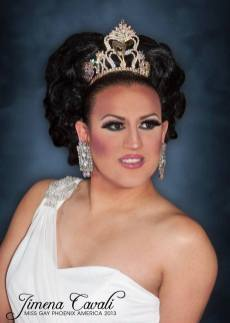 Jemina Cavali - Miss Gay Phoenix America 2013