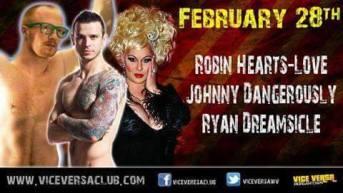 Show Ad | Vice Versa Club (Morgantown, West Virginia) | 2/28/2015