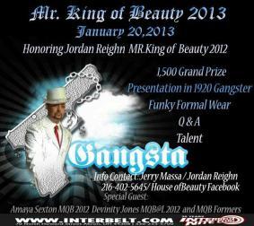 Mr. King of Beauty | Interbelt Nite Club (Akron, Ohio) | 1/20/2013