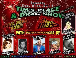 Show Ad   Tim's Place (Lorain, Ohio)   12/21/2013