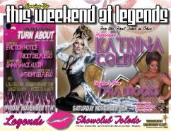 Show Ad | Legends (Toledo, Ohio) | 11/7/2014 and 11/18/2014