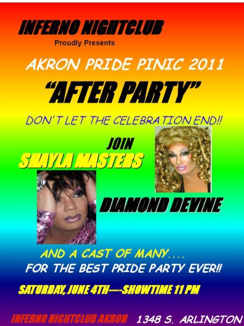Show Ad   Inferno Nightclub & Bar (Akron, Ohio)   6/4/2011