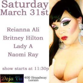 Show Ad   Deja Vu (Lorain, Ohio)   3/31/2012