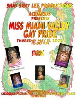 Miss Miami Valley Gay Pride   Club Aquarius (Dayton, Ohio)   5/31/2007