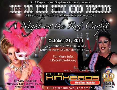 Show Ad | Club Kinkeads (Fort Smith, Arkansas) | 10/21/2011