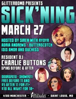 Show Ad | Attitudes Nightclub (St. Louis, Missouri) | 3/27/2015
